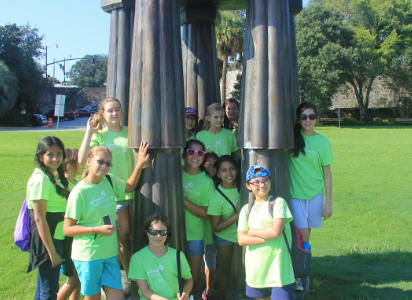 Girl Scouts take philanthropic action in their communities