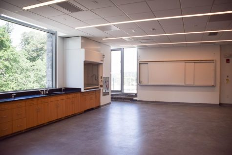 Lutnick Hall Science Classrooms and Labs