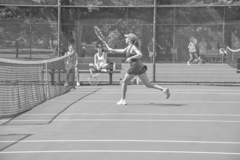 Girls Varsity Tennis hopes to win Ivy League Tournament