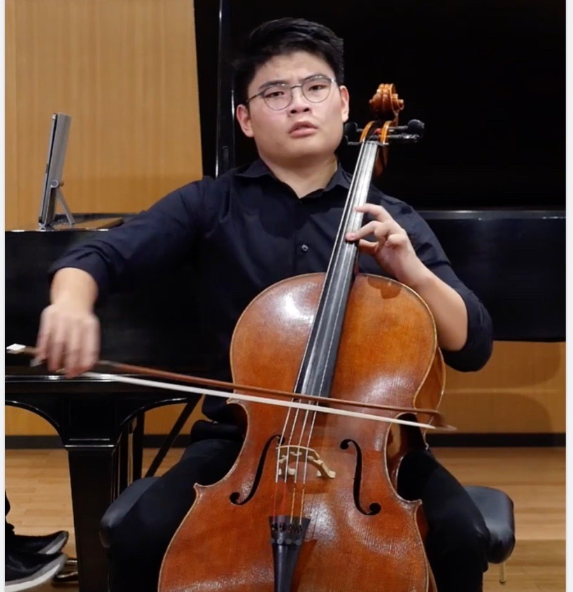 Alex Oh: The Concentrated Cellist