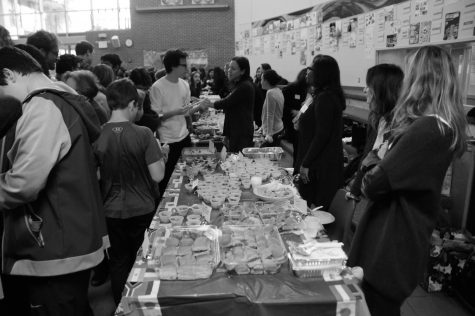 Middle Division students explore different cultures at the annual International Food Festival