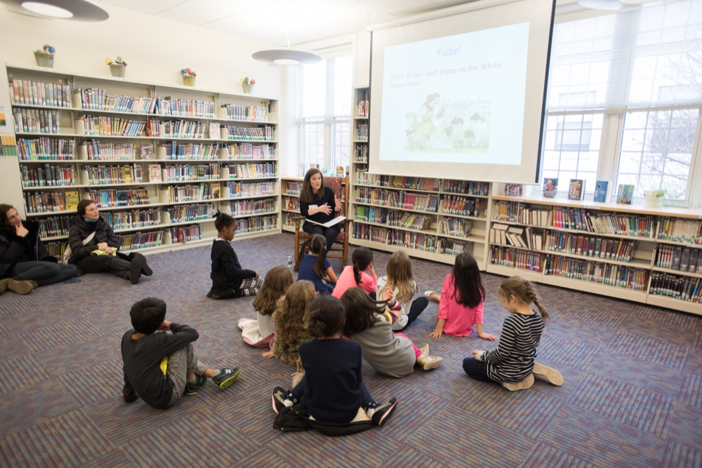 STARTING YOUNG: Lower Division students participate in various forms of service learning