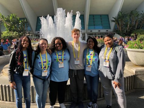 Students and teachers explore identity at diversity conference