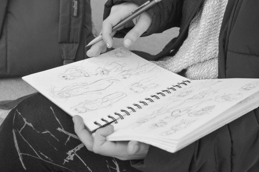 Pen to Paper: Potamopoulou creates graphic novel