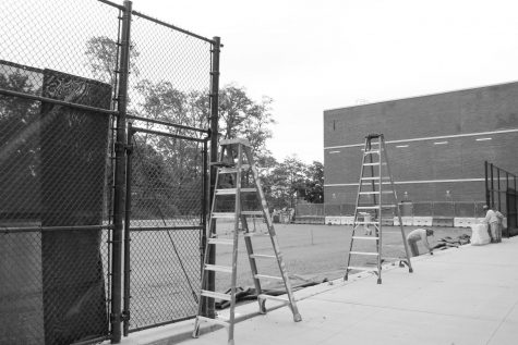 Tennis courts to be installed by spring