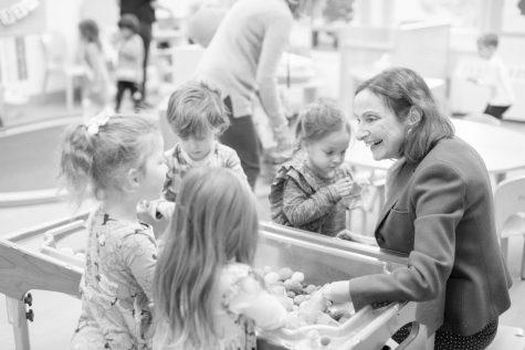 Head of Nursery Marcia Levy retires