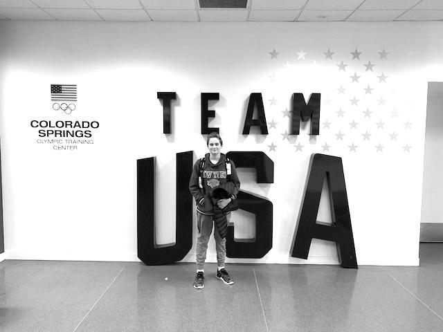 MAX CHASIN (8): Future water polo olympian