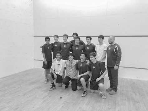 Squash team finishes top 50 in country