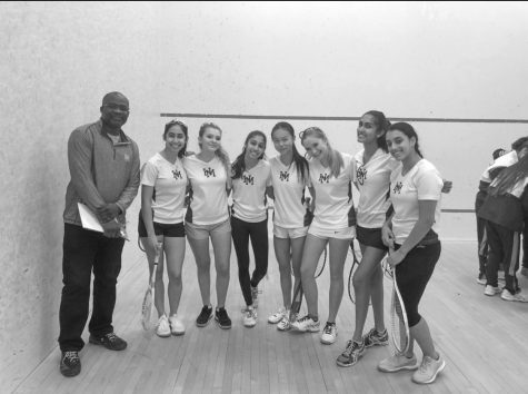 Girls Squash rocks first season