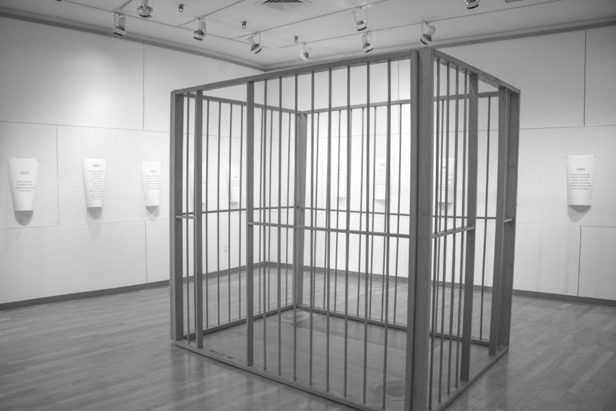 Surya Gowda's (12) Independent Study sheds light on mass incarceration through prison gallery