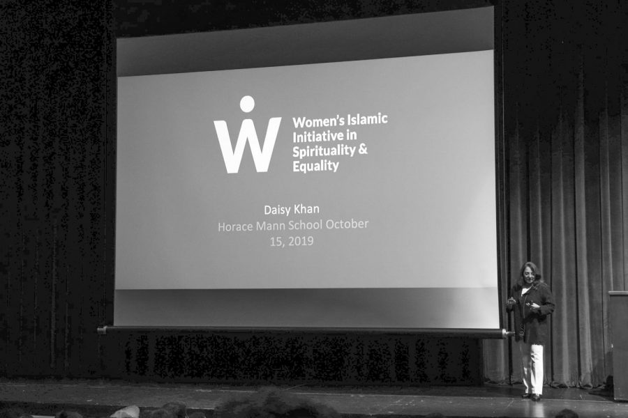 Daisy Khan breaks down Islamophobia
