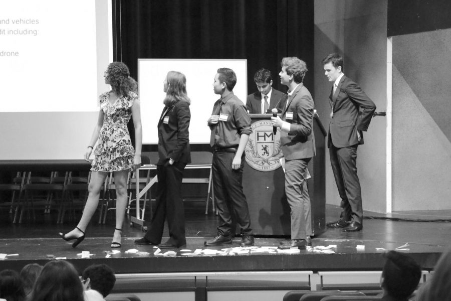 School hosts 34th annual Horace Mann Model United Nations Conference