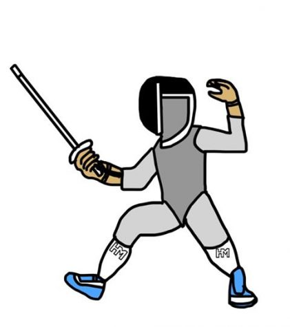 Jousting 'Til the End: Girls Fencing Dominates Marymount