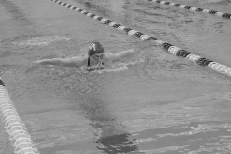 Sea of Swimmers: School hosts Varsity Swimming Invitational