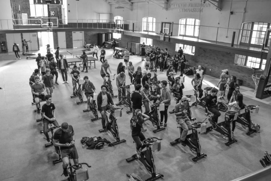 Cancer Awareness Club hosts first ever Cycle for Survival at a high school