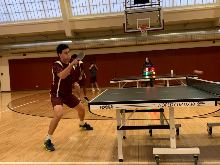 Table Tennis Team triumphs