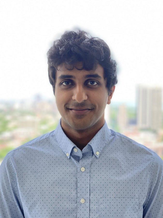 Welcome new UD math teacher: Varun Prabakar