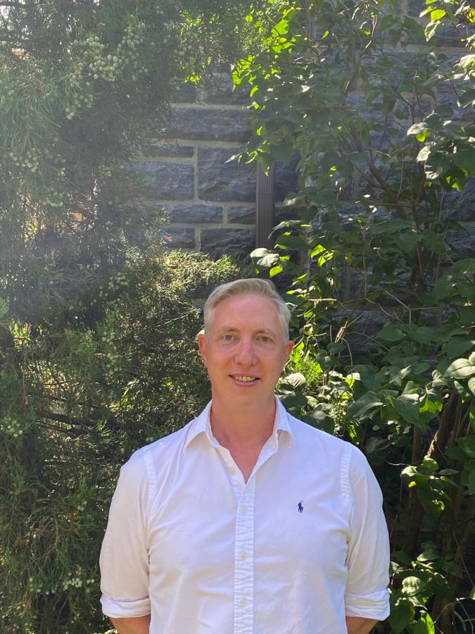 Welcome new UD history teacher: Dr. Steven Fabian