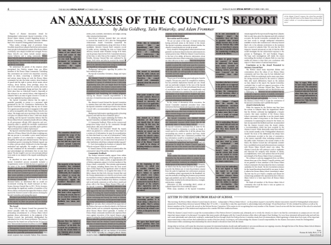 An analysis of the council