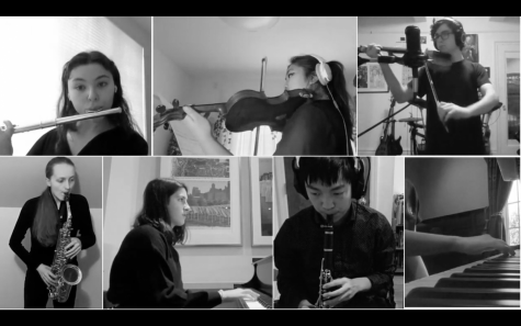 Working alone, playing together: Cyber Ensemble performs virtually for Music Week