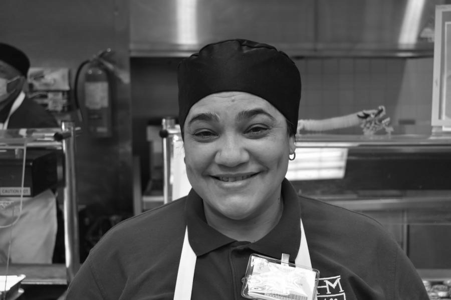 Adriana De La Rosa cooks up a storm