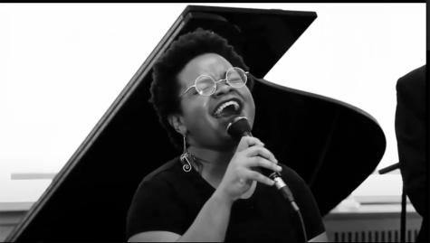 Guest jazz vocalist honors Nina Simone in UD assembly