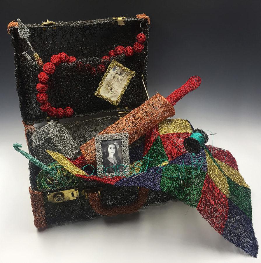 Art teacher Sheila Ferri featured in international sculpture exhibitions