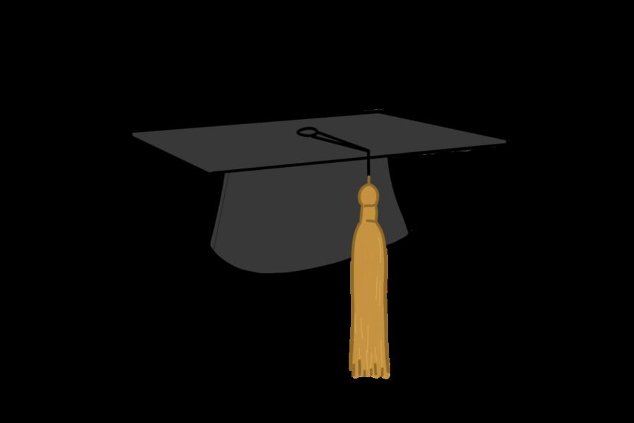Class of 2021 graduates in person
