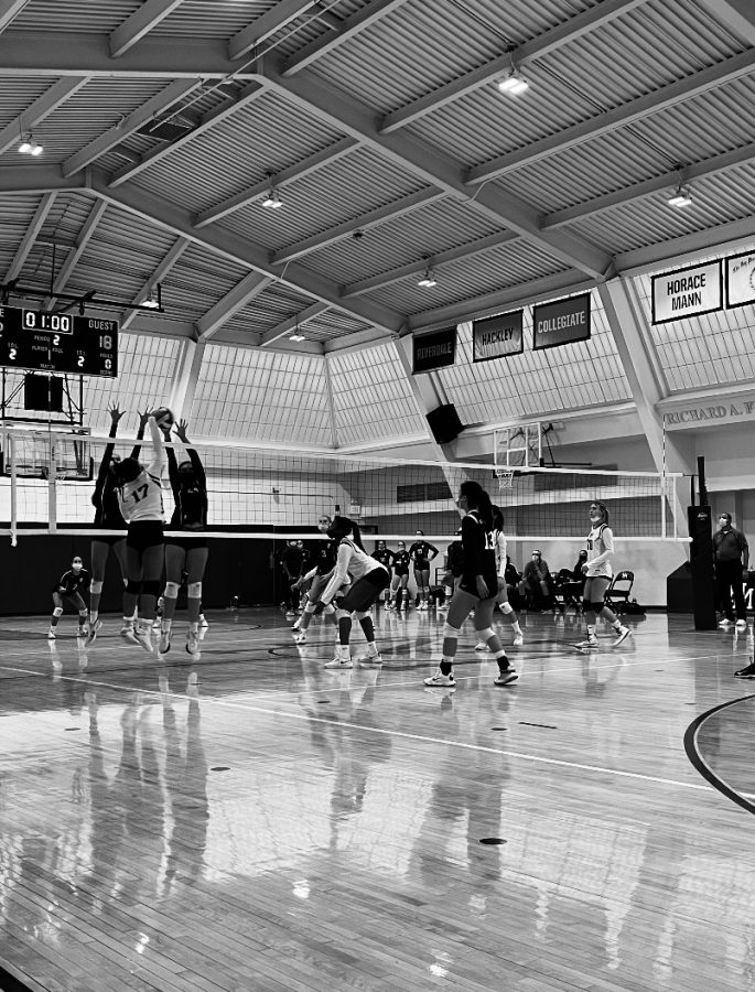 A week in Girls Varsity Volleyball games: Wins and losses