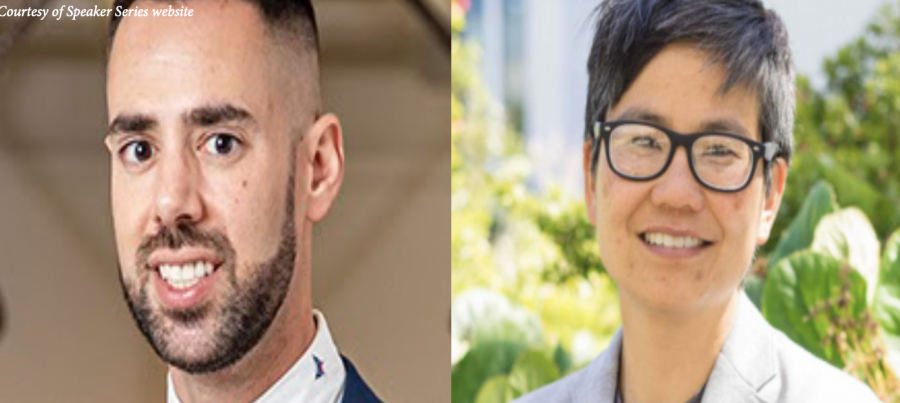 Capó and Sueyshi discuss intersectionality in year's first history speaker series