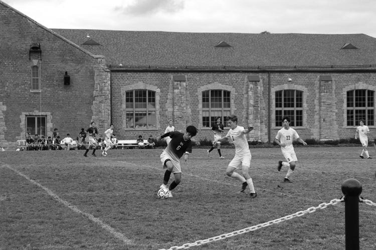 Boys Varsity Soccer plays through the week